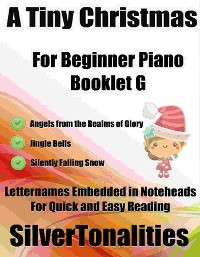 Cover A Tiny Christmas for Beginner Piano Booklet G