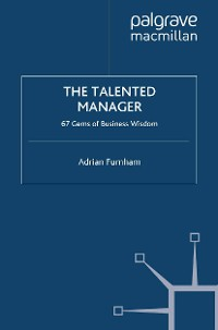 Cover The Talented Manager
