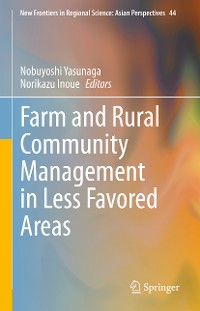 Cover Farm and Rural Community Management in Less Favored Areas