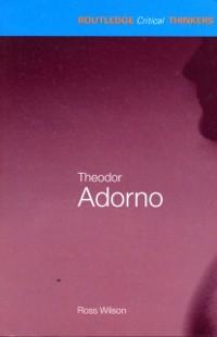 Cover Theodor Adorno