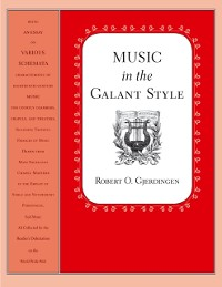 Cover Music in the Galant Style