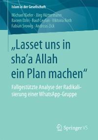 "Cover ""Lasset uns in sha'a Allah ein Plan machen"""