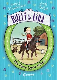 Cover Bulli & Lina 2 - Ein Pony lernt reiten