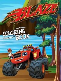 Cover Blaze Coloring Book