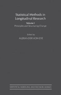 Cover Statistical Methods in Longitudinal Research