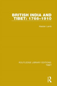 Cover British India and Tibet: 1766-1910