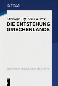Cover Die Entstehung Griechenlands