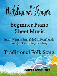 Cover Wildwood Flower Beginner Piano Sheet Music