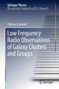 Cover Low Frequency Radio Observations of Galaxy Clusters and Groups