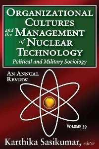 Cover Organizational Cultures and the Management of Nuclear Technology