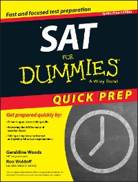 Cover SAT For Dummies 2015 Quick Prep