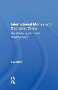 Cover International Money And Capitalist Crisis