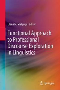 Cover Functional Approach to Professional Discourse Exploration in Linguistics