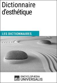 Cover Dictionnaire d'esthétique
