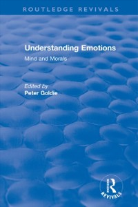 Cover Understanding Emotions: Mind and Morals