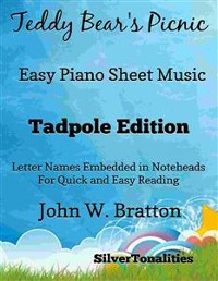 Cover Teddy Bear's Picnic Easy Piano Sheet Music Tadpole Edition