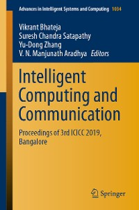 Cover Intelligent Computing and Communication