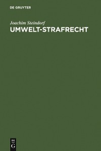 Cover Umwelt-Strafrecht
