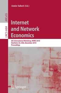 Cover Internet and Network Economics