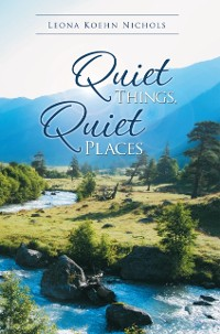 Cover Quiet Things, Quiet Places