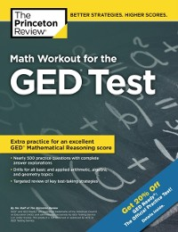 Cover Math Workout for the GED Test