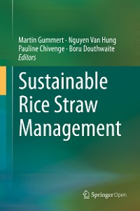 Cover Sustainable Rice Straw Management