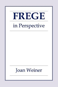 Cover Frege in Perspective