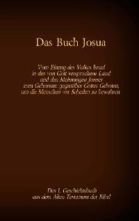 Cover Das Buch Josua, das 1. Geschichtsbuch aus dem Alten Testament der Bibel