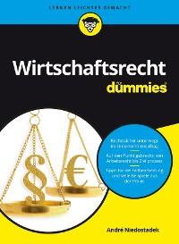 Cover Wirtschaftsrecht für Dummies