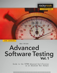 Cover Advanced Software Testing - Vol. 1, 2nd Edition