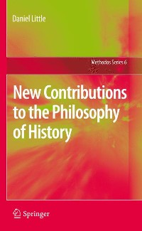 Cover New Contributions to the Philosophy of History