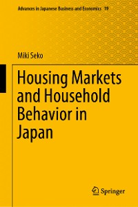 Cover Housing Markets and Household Behavior in Japan