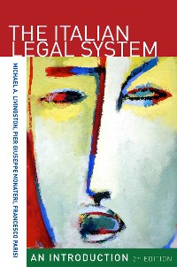 Cover The Italian Legal System