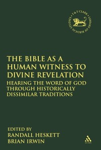 Cover Bible as a Human Witness to Divine Revelation