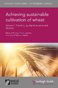 Cover Achieving sustainable cultivation of wheat Volume 1