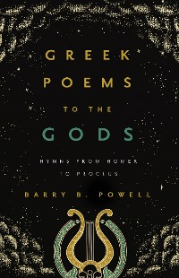 Cover Greek Poems to the Gods