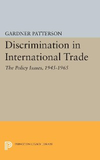 Cover Discrimination in International Trade, The Policy Issues
