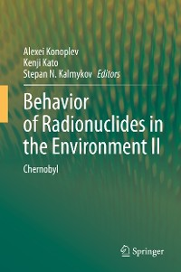 Cover Behavior of Radionuclides in the Environment II