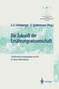 Cover Die Zukunft der Ernahrungswissenschaft