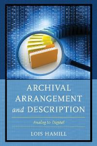 Cover Archival Arrangement and Description