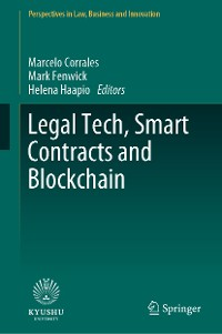 Cover Legal Tech, Smart Contracts and Blockchain