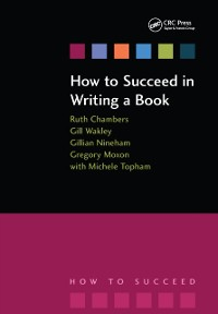 Cover How to Succeed in Writing a Book