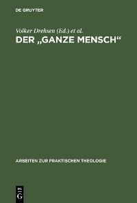 """Cover Der """"ganze Mensch"""""""