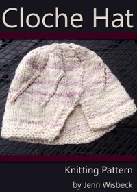 Cover Cloche Hat Knitting Pattern