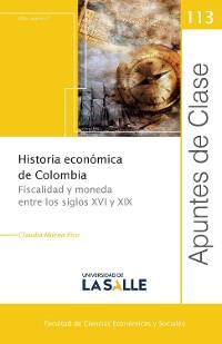 Cover Historia económica de Colombia