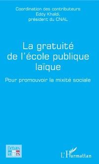 Cover La gratuite de l'ecole publique laique