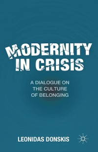 Cover Modernity in Crisis