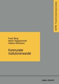 Cover Kommunaler Institutionenwandel