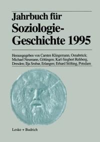 Cover Jahrbuch fur Soziologiegeschichte 1995
