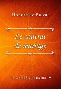 Cover Le contrat de mariage